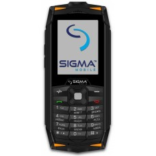 Телефон Sigma mobile X-treme DR68 Black-Orange