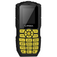 Телефон Sigma mobile X-treme IO68 Bobber Black-Yellow