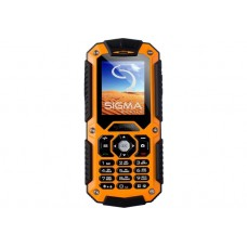 Телефон Sigma mobile X-treme IT67 Black-Orange